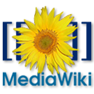 Logo of MediaWiki